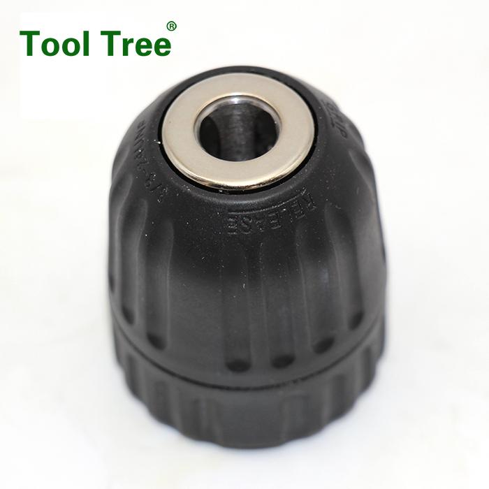 Keyless Hand tightening drill chuck