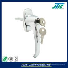Door Handle Zinc Alloy Key Switch Lock