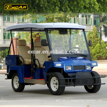 La batterie de Trojan a remoulé la voiture de patrouille électrique voyageant la voiture chariot de golf électrique