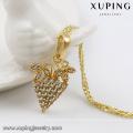 31082 xuping fashion indian jewelry diamond strawberry pendant