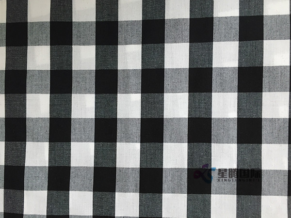 Factory Cotton Yarn Dyed Check Fabric