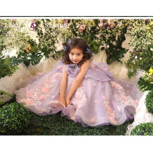 XXLF199 kids beautiful model dresses party wear frocks frock design for baby girl
