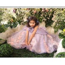 XXLF199 kids beautiful model dresses desgaste de festa vestido vestido vestido para bebé