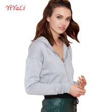 Women′s Clothing High Quality Sportwear Hoodies Jacket