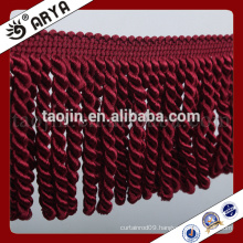 simple design brush tassel fringe for curtain and home textile decoration