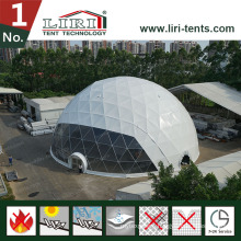 30m Diameter Large Geodesic Dome Half Sphere Tent