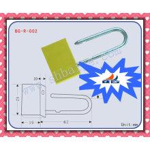 Selos de cadeado de segurança BG-R-002 Selos de cadeado, vedação, selo de segurança, selos de cadeado de contêiner, trava de contêiner, cadeado de latão tipo fino