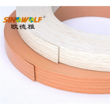 Hot sale for China Pvc Woodgrain Color Edge Banding, Colorful Pvc Edge Banding, Wood Grain Edge Banding, New Pvc Wood Grain Color Edge Banding Supplier Popular Colors PVC Edge Banding for Particle Board supply to South Korea Exporter