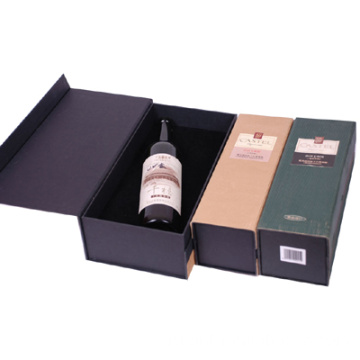 Collapsible+Rigid+Brand+Wine+Packaging+Box