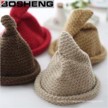Chapeau en tricot d'hiver de femmes chaude Chapeaux de chapeaux de ski Hip-Hop