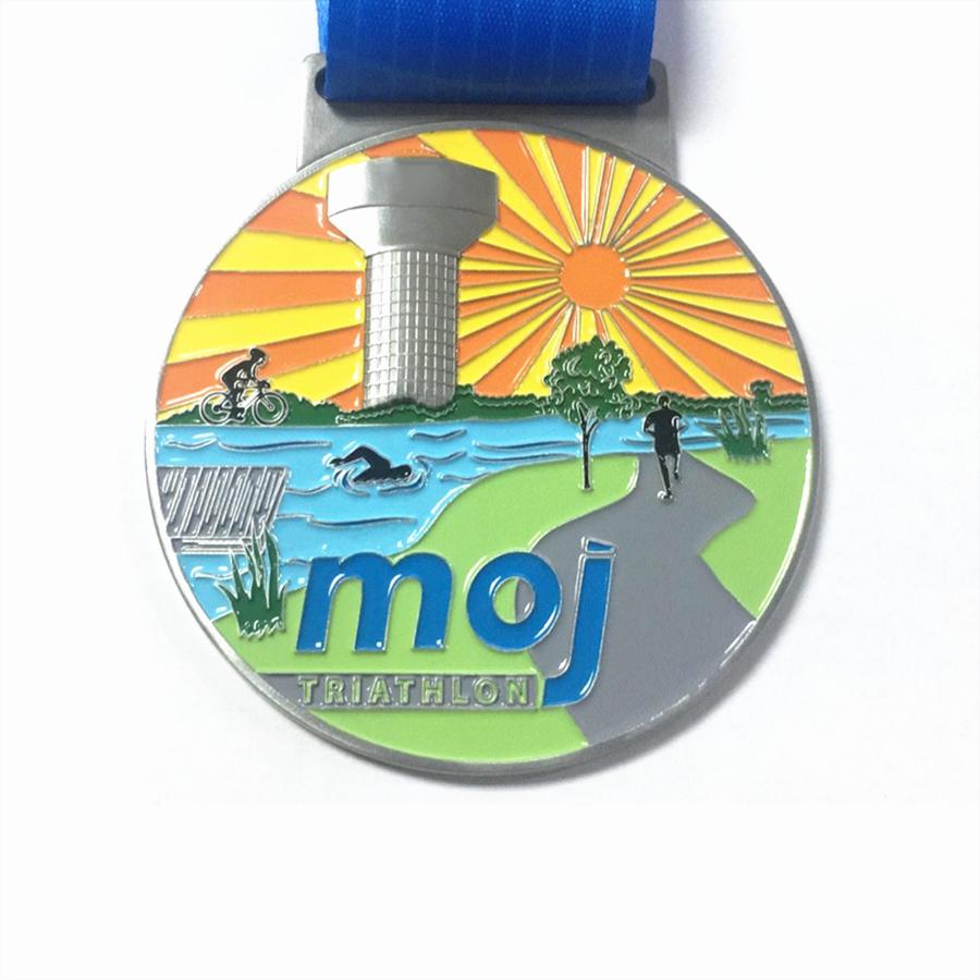 Popular Triathlon Medal