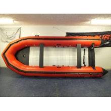 Bateau de pêche de gros bateau gonflable de 8 mètres aviron bateau de sauvetage