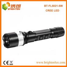 Fábrica al por mayor precio barato Buen Zoomable Zoom XPG 5W CREE llevó la luz de la antorcha recargable con 1 * 18650 batería de litio