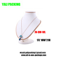 White Leather Necklace PU Bust for Jewelry Exibition Show (JN-DM-WL)
