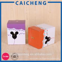 Benutzerdefinierte Kinder Spielzeug Verpackung Box / Wellpappe
