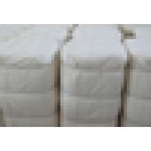 Широкая хлопковая / белая ткань дешевая цена