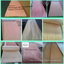 Low Price Engineered Ebony Wood Veneer For Furniture