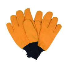 Woven Work Glove, Flannelette Winter Glove