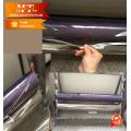 Gepuderte normale, klare Holzkorn-Hochglanz-PVC-Folie