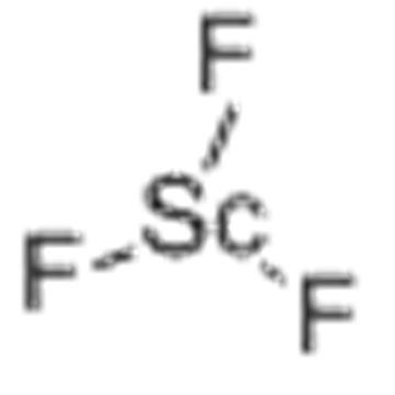 Trifluoruro de escandio CAS 13709-47-2
