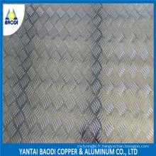 Plaque en aluminium à carreaux de prix de gros