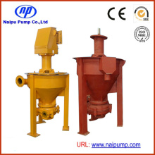 Elastomer Lined Vertical Froth Pumps (3QV-ZJF, 4RV-ZJF)