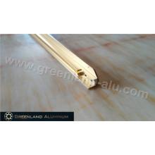 Anodizado Gold TV Frame de alumínio