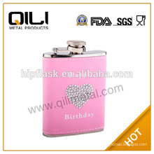 5oz lady promotional gift mini hip flask