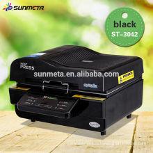 Máquina de impresión de la transferencia de calor de la sublimación de la fuente 3D del fabricante de Sunmeta para la venta