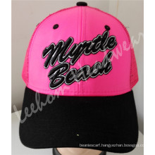 Neon High Visibility Baseball Cap for Outdoor Reflective