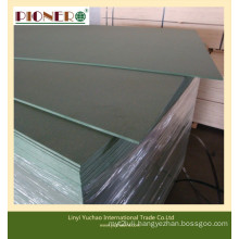 Green Water-Proof MDF Board for Shower Room