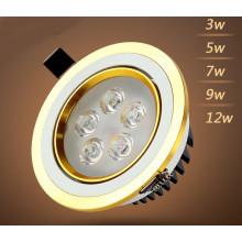 3W / 5W / 7W / 9W / 12W LED Downlight pour magasin et magasin d'éclairage