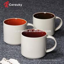 Coffee mug manufacturer two tone coffee mug