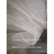 Tejido de malla de mosquito tejido de urdimbre 100% poliéster