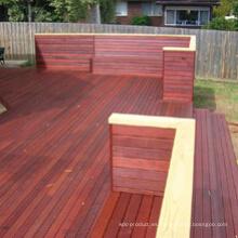 Antideslizante Merbau Hardwood Yard Cubierta de piso de madera