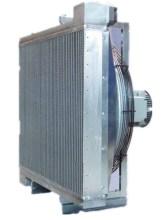 Sejuk air Plat-Bar aluminium pemampat udara Funke