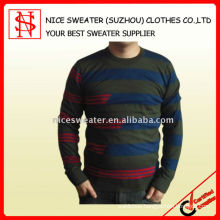 Men's extremely soft wool pullover