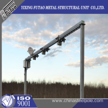 Hot Sales CCTV steel poles