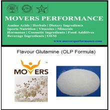 Bodybuilding OEM Nutrição Flavor Glutamina (fórmula OLP)
