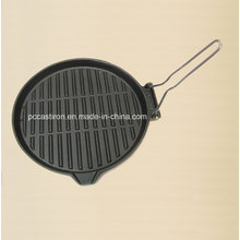 Preseasoned Cast Iron Fajita Sizzler Dia 27cm