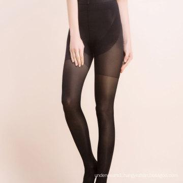 Transparent high waist office ladies pantyhose thin women stockings tights