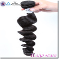 Cheveux alignés de cuticule crue double trame un donneur