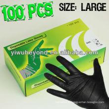 Одноразовые нитриловые перчатки