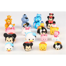 China figura engraçada figura de ação de plástico brinquedos