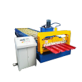 Africa design metal cold wall and roof roll forming machine for high effciency