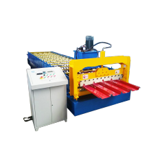 Cheap for Galvanized Trapezoid Roof Roll Forming Machine Color Steel Ibr Roof Roll Forming Machine supply to Faroe Islands Importers