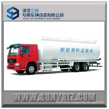 25 Cubic Sinotruk HOWO 6X4 Bulk Cement Tank Truck
