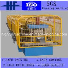 Rollenformmaschine zum Herstellen von quadratischen Stahlprofilen