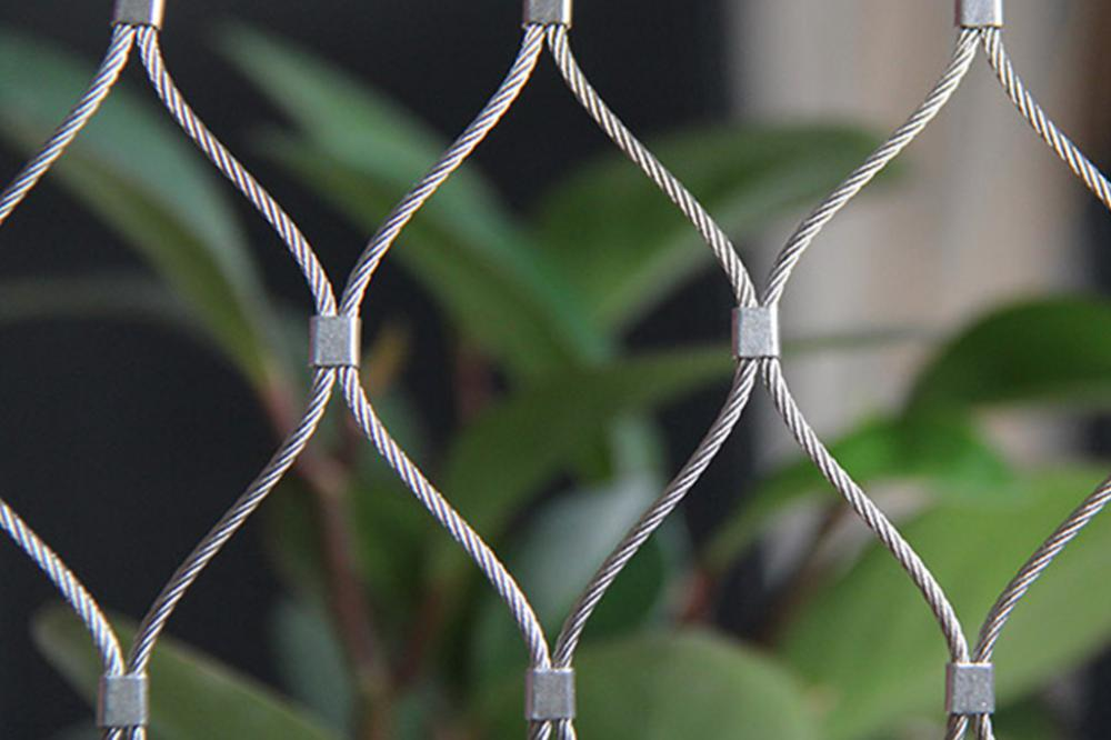 Handwoven Stainless Steel Cable Mesh Nets