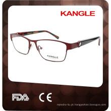 2015 Atacado de metal com diamantes grandes e longos óculos Eyewear Metal Eyeglass Frame Factory
